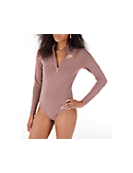 Women's Nike Air Long Sleeve Bodysuit by Nike