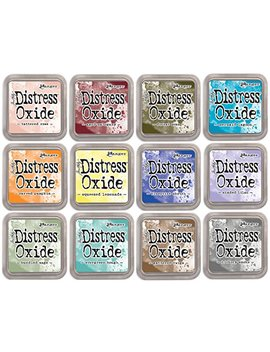 Tim Holtz Distress Oxide Ink January 2018   12 Item Bundle by Tim Holtz
