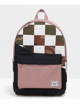 Herschel Supply Co. Classic Xl Kaleidoscope Check &Amp; Camo Backpack by Herschel Supply