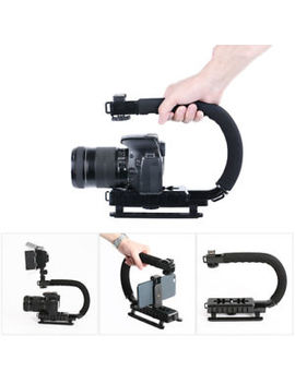Pro Camera Stabilizer Steady Cam Handheld Steadicam For Camcorder Dslr Gimbal by Unbranded