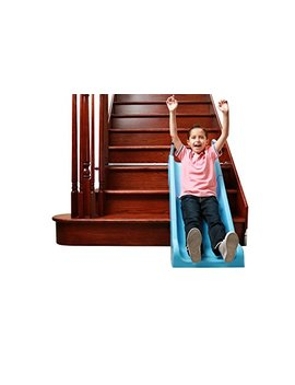 Slidewhizzer Indoor Stair Slide Toy Playset Toys – Kids/Toddler/Boys/Girls Safe Playground Children On Stairs – Parents/Grandparents Gifts To Your Precious Ones by Slidewhizzer
