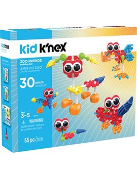 K'nex Zoo Friends Construction Toy (Amazon Exclusive) by K'nex