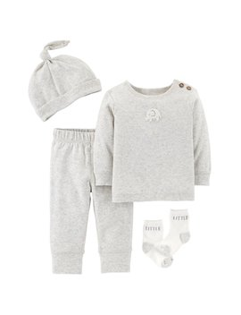 Baby Carter's Elephant Top, Pants, Hat & Socks Set by Kohl's