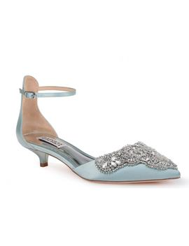 Fiana Ankle Strap Pump by Badgley Mischka