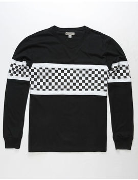Charles And A Half Checkered Block Mens T Shirt by Charles And A Half