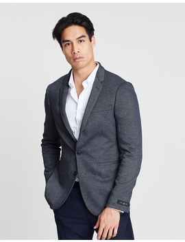 Slim Fit Jersey Stretch Blazer by Burton Menswear