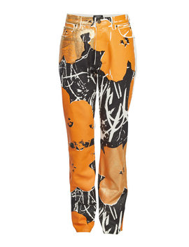 X Andy Warhol Printed Jeans by Calvin Klein 205 W39 Nyc