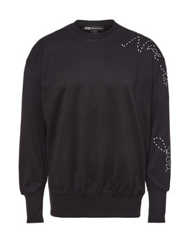 Embroidered Cotton Sweatshirt by Y 3