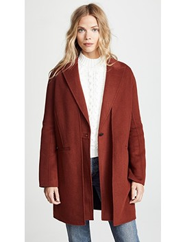 Kaye Coat With Removable Vest by Rag & Bone