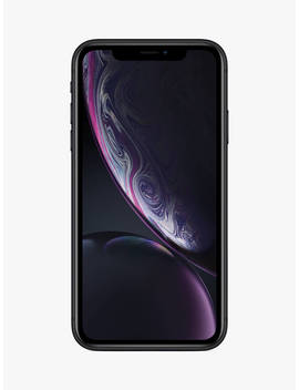 "Apple I Phone Xr, I Os, 6.1"", 4 G Lte, Sim Free, 128 Gb, Black by Apple"
