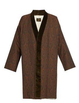 Paisley Kimono Coat by Needles