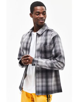 Pac Sun Buddy Plaid Flannel Shacket by Pacsun