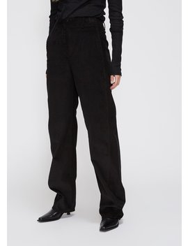 Corduroy Wide Twisted Pants by Lemaire