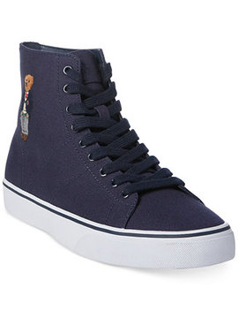 Men's Solomon High Top Sneakers by Polo Ralph Lauren
