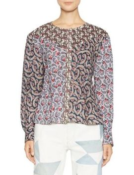Loris Paisley Printed Top by Isabel Marant Etoile