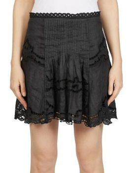Marion Lace Mini Skirt by Isabel Marant