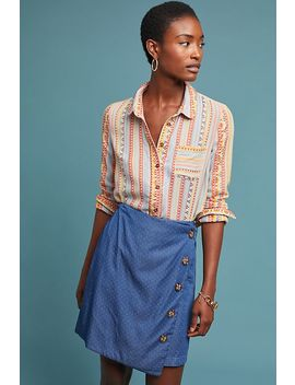 Mademoiselle Buttondown by Anthropologie