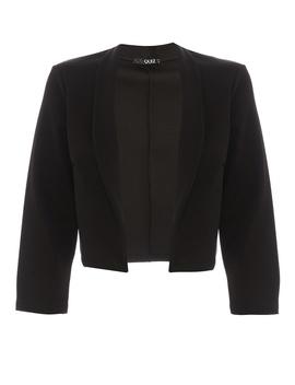 *Quiz Black 3/4 Sleeve Jacket by Dorothy Perkins