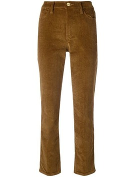 Straight Leg Corduroy Trousers by Frame