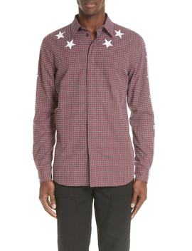 Metallic Star Sport Shirt by Givenchy