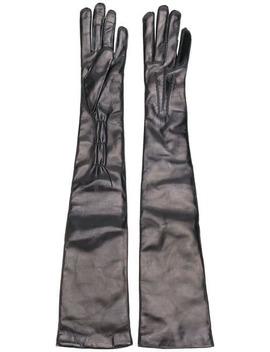 Joris Long Gloves by Ann Demeulemeester