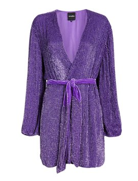 Gabrielle Purple Sequin Mini Dress by Retrofête