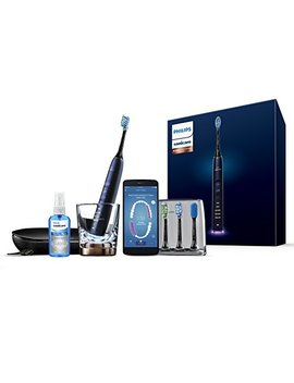 Philips Sonicare Diamond Clean Smart Electric Toothbrush   Lunar Blue Edition (Uk 2 Pin Bathroom Plug) Hx9954/53 by Philips