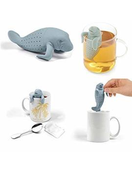 Vivo © Manatea Infuser Strainers Grey Loose Green Tea Health Drink Herbal Tea Cup Gift by Vivo