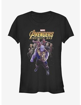 Marvel Avengers: Infinity War Thanos Entourage Girls T Shirt by Hot Topic