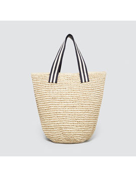 Striped Handle Tote by Seed Heritage