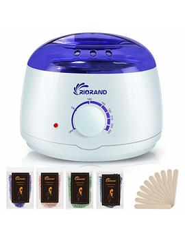 Rio Rand Wax Warmer Hair Removal Kit With Hard Wax Beans And Wax Applicator Sticks by Amazon