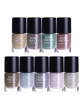 9ml Born Pretty 9 Colors Matte Nail Polish Nail Paint Quick Dry For Nail Art Design by Born Pretty