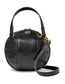 Tifosa Leather Shoulder Bag by Gucci