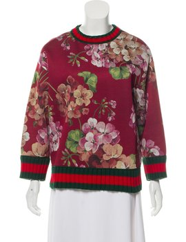 2017 Blooms Sweatshirt by Gucci