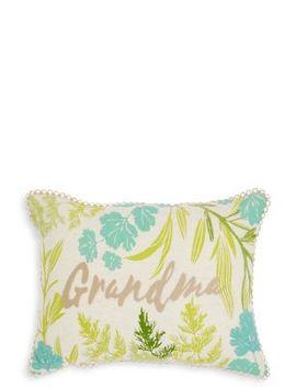 Botanical Grandma Cushion by Marks & Spencer