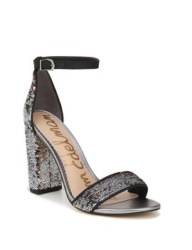 Yaro Sequined Ankle Strap Sandal by Sam Edelman