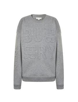 Children Boys Embossed Logo Sweatshirt by Burberry