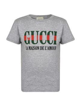 Junior Boys La Maison T Shirt by Gucci