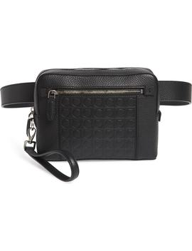 Textured Leather Belt Bag by Salvatore Ferragamo
