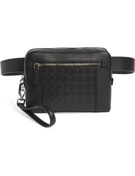Textured Leather Belt Bag by Salvatore Ferragamo