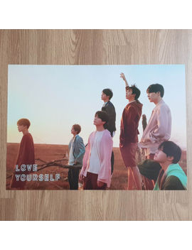 Poster Only Bts Love Yourself Tear Official Poster Y Ver. Hard Case Tube Packing by Ebay Seller