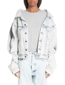 Double Front Denim Jacket by Y/Project
