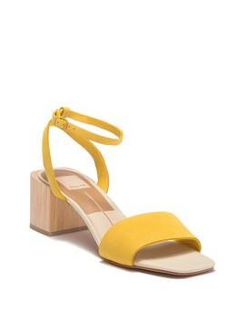 Zarita Suede Block Heel Sandal by Dolce Vita
