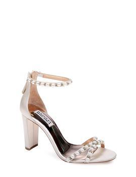 Hooper Ankle Strap Sandal (Women) by Badgley Mischka