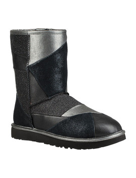 Classic Patchwork Leather Boot by Ugg