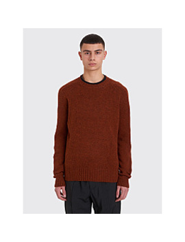 Prada Knitted Sweater Tabacco by Très Bien