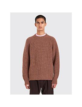Lemaire Rib Sweater Havana / Saffron by Très Bien