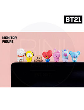 Bts Bt21 Official Authentic Goods Monitor Figure 7 Set By Royche With Track Num by Bt21