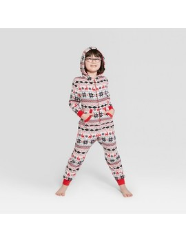 Kids' Holiday Fair Isle Union Suit   Wondershop™ White by Shop This Collection