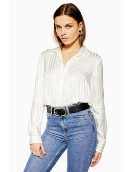 Tall Striped Shirt by Topshop
